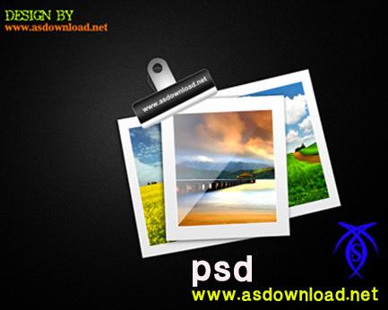 دانلود فایل لایه باز طراحی قاب عکس با فرمت psd