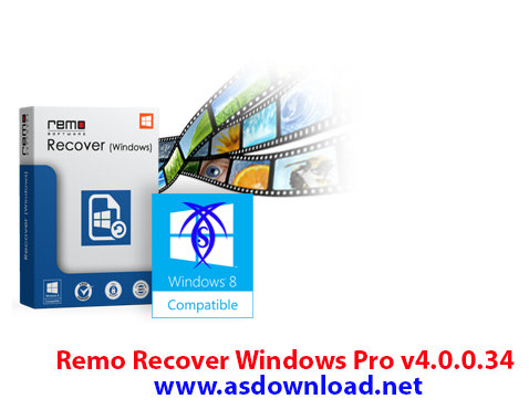 Remo Recover Windows Pro v4.0.0.34