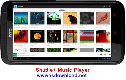 Photo of دانلود موزیک پلیر برای آندروید -Shuttle+ Music Player 1.5.9