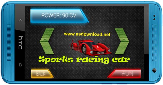 Sports racing car