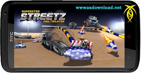 دانلود بازی بلوتوثی و رالی سوپر استار  Superstar Streetz MMO- دو نفره