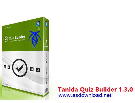 دانلود Tanida Quiz Builder 1.3.0- نرم افزار طراحی آزمون های آنلاین و اینترنتی-مجازی