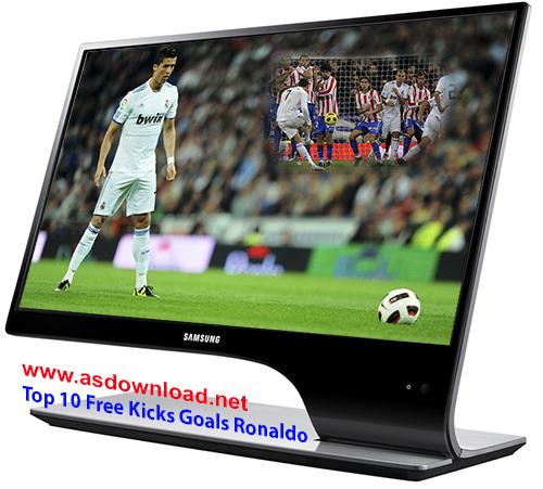 Top 10 Free Kicks Goals Cristiano Ronaldo