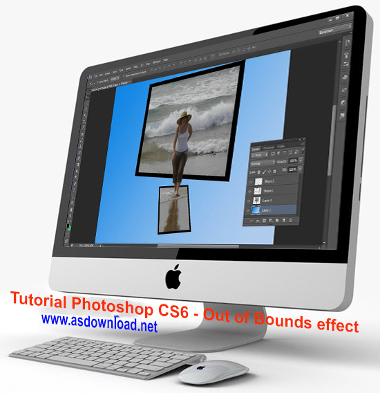 Tutorial Photoshop CS6  effect shadow
