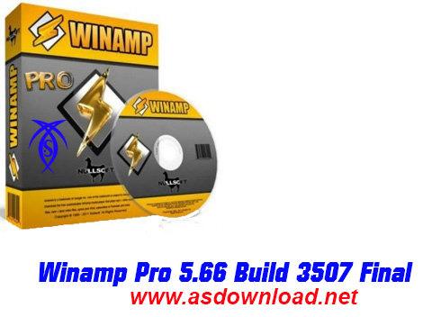 دانلود نرم افزار Winamp Pro 5.66 Build 3516 Final – پخش فیلم و موزیک