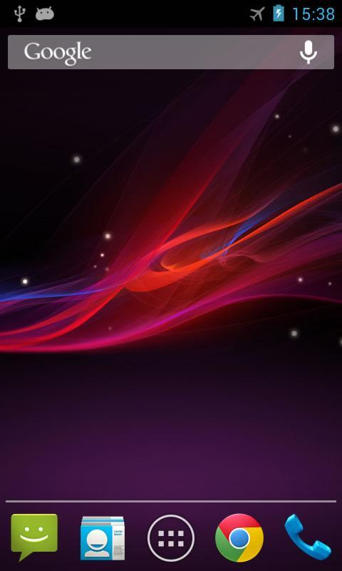 Xperia Z Live Wallpaper-دانلود والپیپر زنده اکسپریا برای آندروید