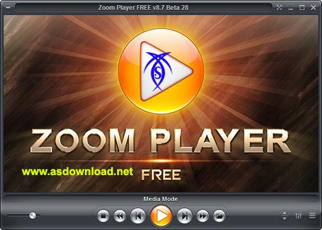 دانلود نرم افزار پخش فیلم و موزیک - Zoom Player 8.7 Beta 28