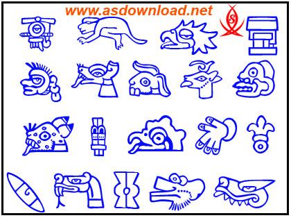 دانلود فایل psd شکلک های کارتونی برای طراحی کاریکاتور و انیمیشن