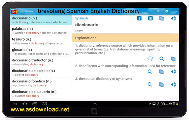 bravolang Spanish English Dictionary
