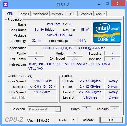دانلود CPU-Z 1.70- نرم افزار نمایش اطلاعات کامل سخت افزاری کامپیوتر