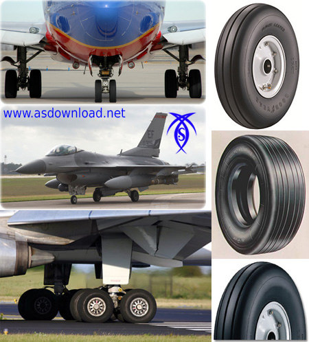how to make Aircraft Tire