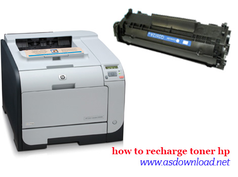 how to recharge catridge printer hp