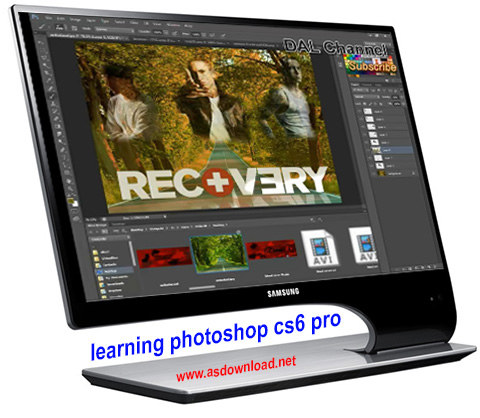 learning photoshop cs6 pro