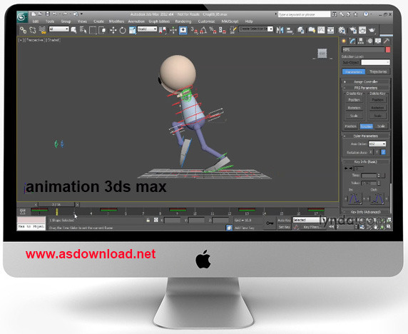 make animation in 3ds max