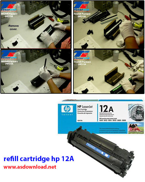 refill cartridge hp 12A