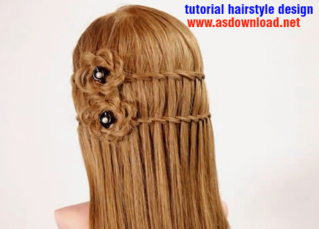 tutorial hairstyle design