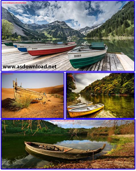 wallpaper boats