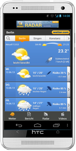 wetter for weather