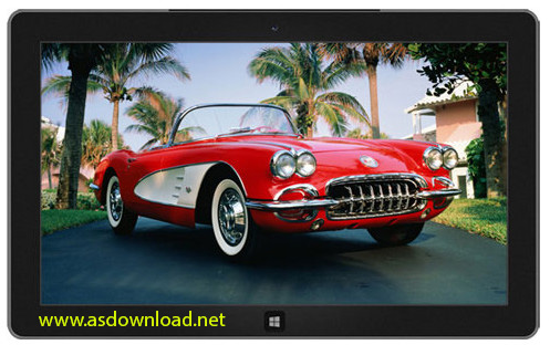 windows 8 theme-Classic Cars